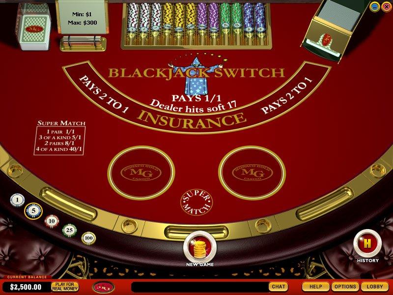 switch blackjack las vegas
