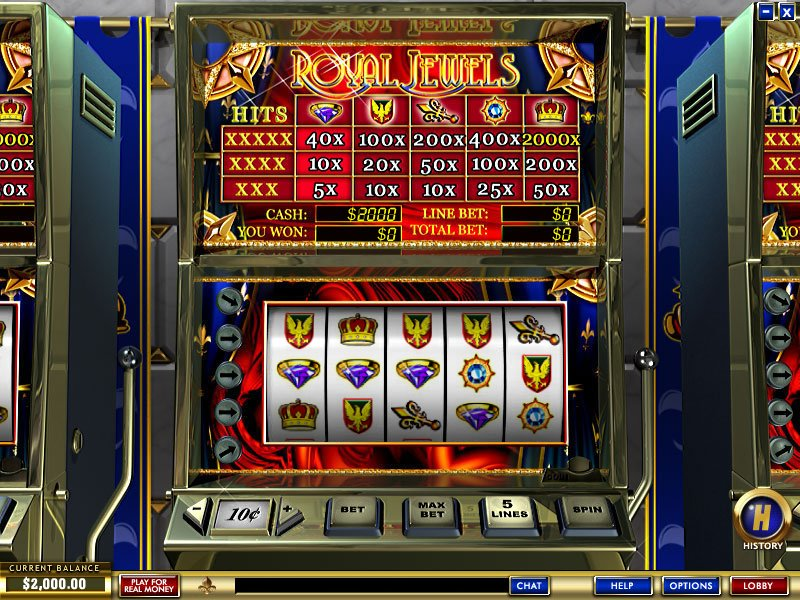 Royal Jewels Slot - Try this Online Game for Free Now